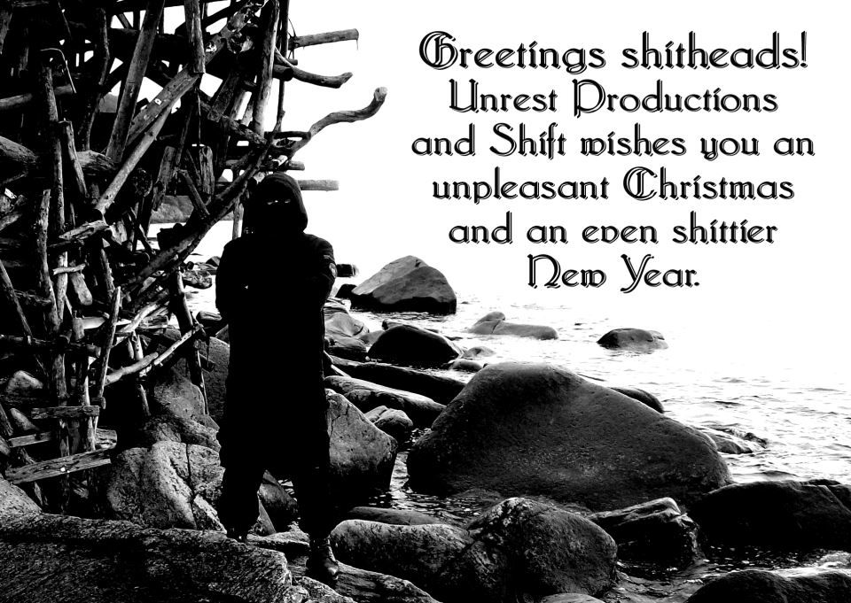Christmas Greetings Shitheads